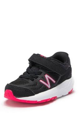 New Balance 519 Baby Girl Sneakers Black Pink Glitter