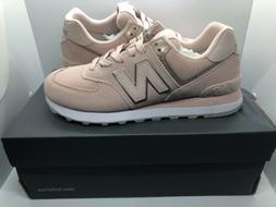 New Balance 574 Oyster Pink WL574MEC Womens Casual Lifestyle