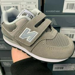 NEW BALANCE 574 SERIES IV574GG GREY SNEAKER KIDS INFANT TODD