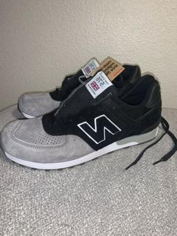 New Balance 576 M576PKG Made In England  Black Grey Sneakers