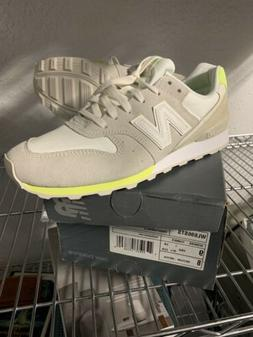 New Balance 696 Suede Lace Up Womens Classic Sneakers, Grey