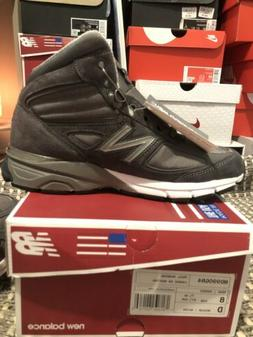 New Balance 990 V4 MADE IN THE USA Mid Sneaker Boot Grey MO9
