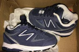 New Balance Baby Boy Infant Shoes Size 2C Navy Blue Sneakers