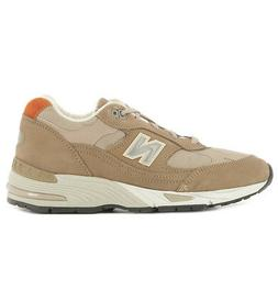 New Balance color taupe sneaker article W991NRFU made in Eng