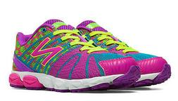 Girls New Balance Bright Colors Lace Lightweight  Sneakers