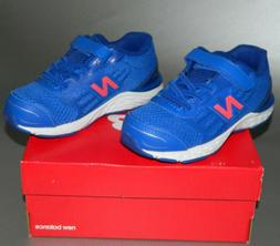New Balance Kids' 680V5 Hook and Loop Running Shoe Sneakers