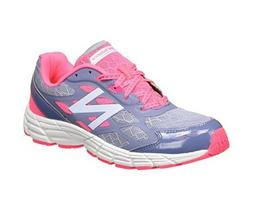 NEW BALANCE Kids 'KJ880PKY' Pink Gray Running Sneakers Sz 11