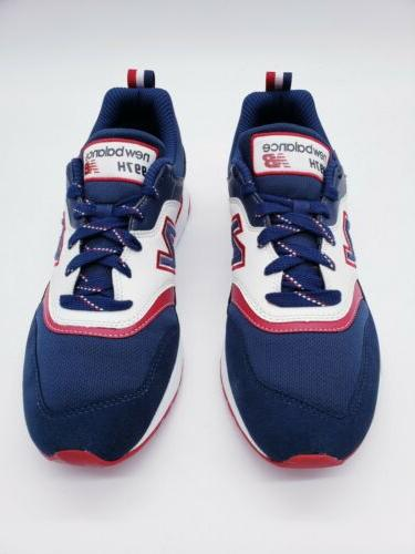 New 997 Blue Red Shoes Size 11