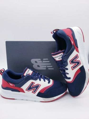 New Navy Blue White Shoes CM997HFE Size 11