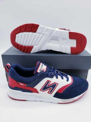 New Blue White Red Running Shoes 11