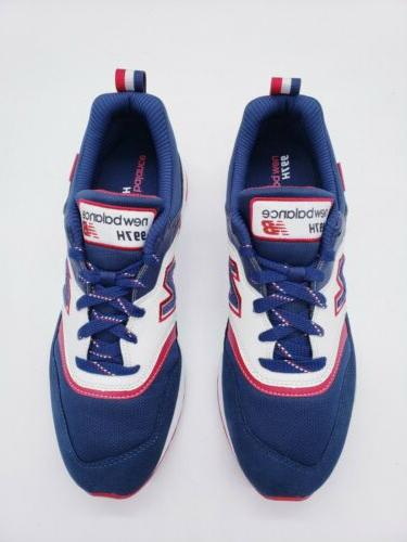 New Blue White Running Shoes 11