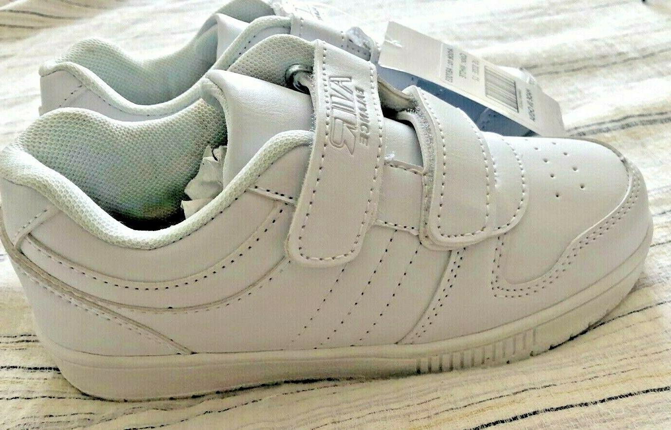 boys girls sneakers white us size 12