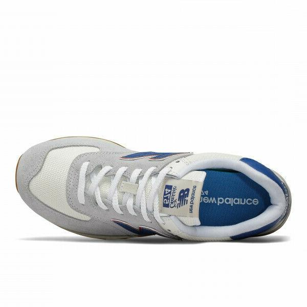 NEW BALANCE RUNNING CASUAL SNEAKERS GREY/BLUE
