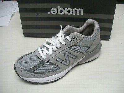 womens w990 gl5 shoes sneakers grey d