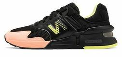 New Balance Men's 997 Sport Shoes Black with Pink