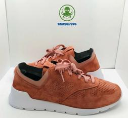 New Balance Mens 1978 Classic Pink Suede Sneakers Shoes 11.5