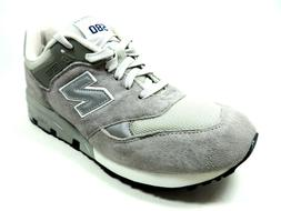 New Balance Mens Shoes CM580GR Casual Sneakers D Wide Leathe