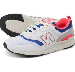 new balance 997 white sneakers size 10