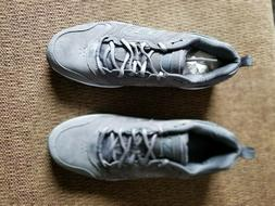 NEW BALANCE MEN'S MX623GS TRAINER SNEAKERS, GRAY, SIZE 10 1/