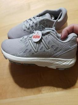 New Balance Shoes Kids Girls Size 11 Extra Wide Gray/ sparkl