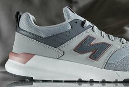 New Balance Women's 009v1 Lifestyle Shoe Sneaker, Light Alum