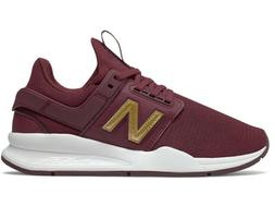 Womens New Balance WS247CND Burgundy   Lifestyles  Sneakers