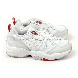 New Balance WX708EC D White & Red Casual Sneakers Wide Chunk
