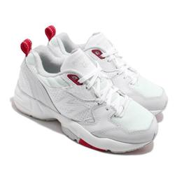 New Balance WX708EC D Wide White Red Women Casual Daddy Shoe